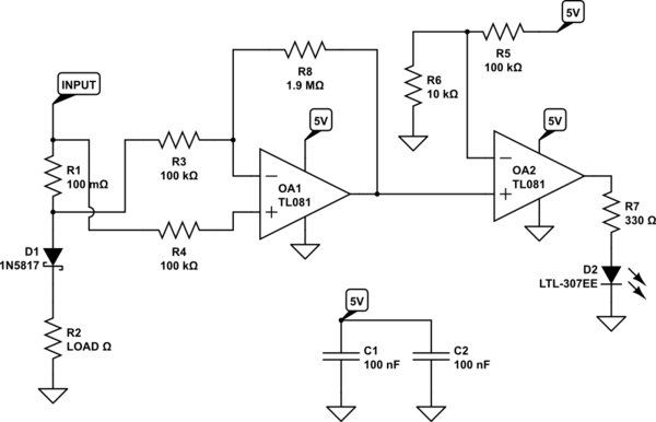 Switching between battery and USB using diode OR logic