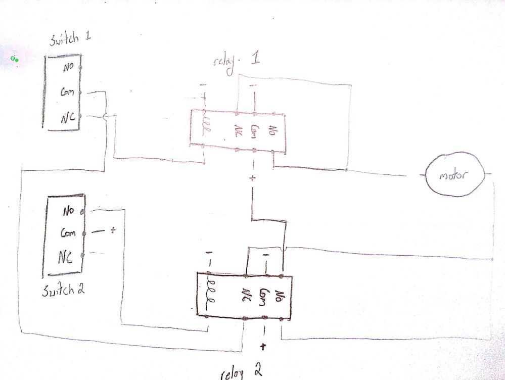 medium resolution of initial wiring diagram relay