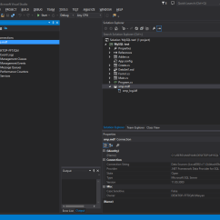 Database Diagram Visual Studio 2013 Mass Air Flow Sensor Wiring C How To View New Query Option For This
