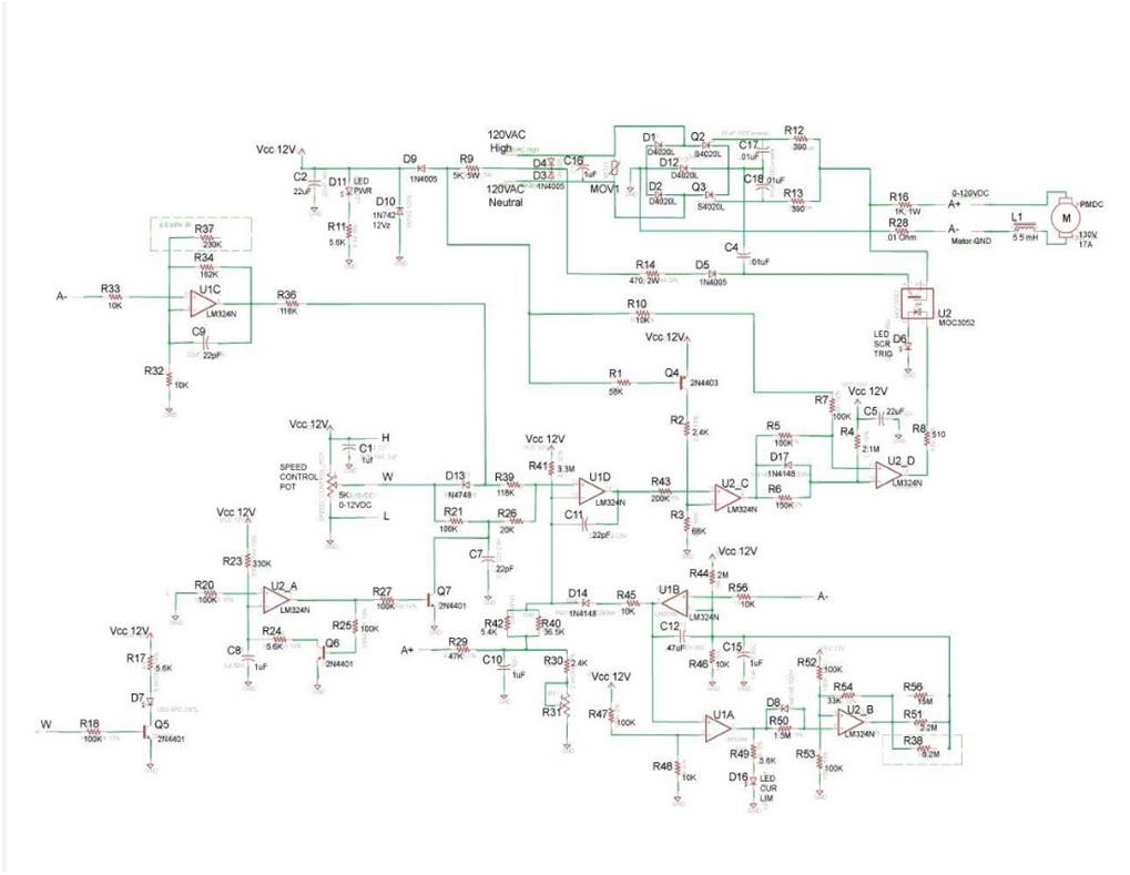 Dc Motor Wiring Schematic