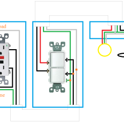 Bathroom Fan With Timer Wiring Diagram Parts Of A Wave Electrical How Can I Rewire My Light And Receptacle Enter Image Description Here