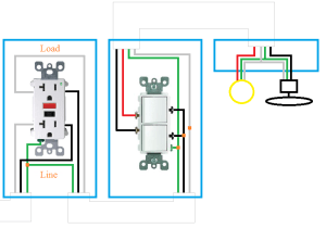 electrical  How can I rewire my bathroom fan, light, and receptacle?  Home Improvement Stack