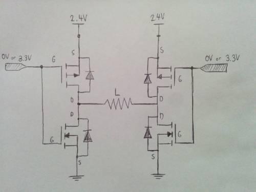 small resolution of original h bridge circuit