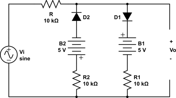 clamping diode circuit a diode clipping circuit can