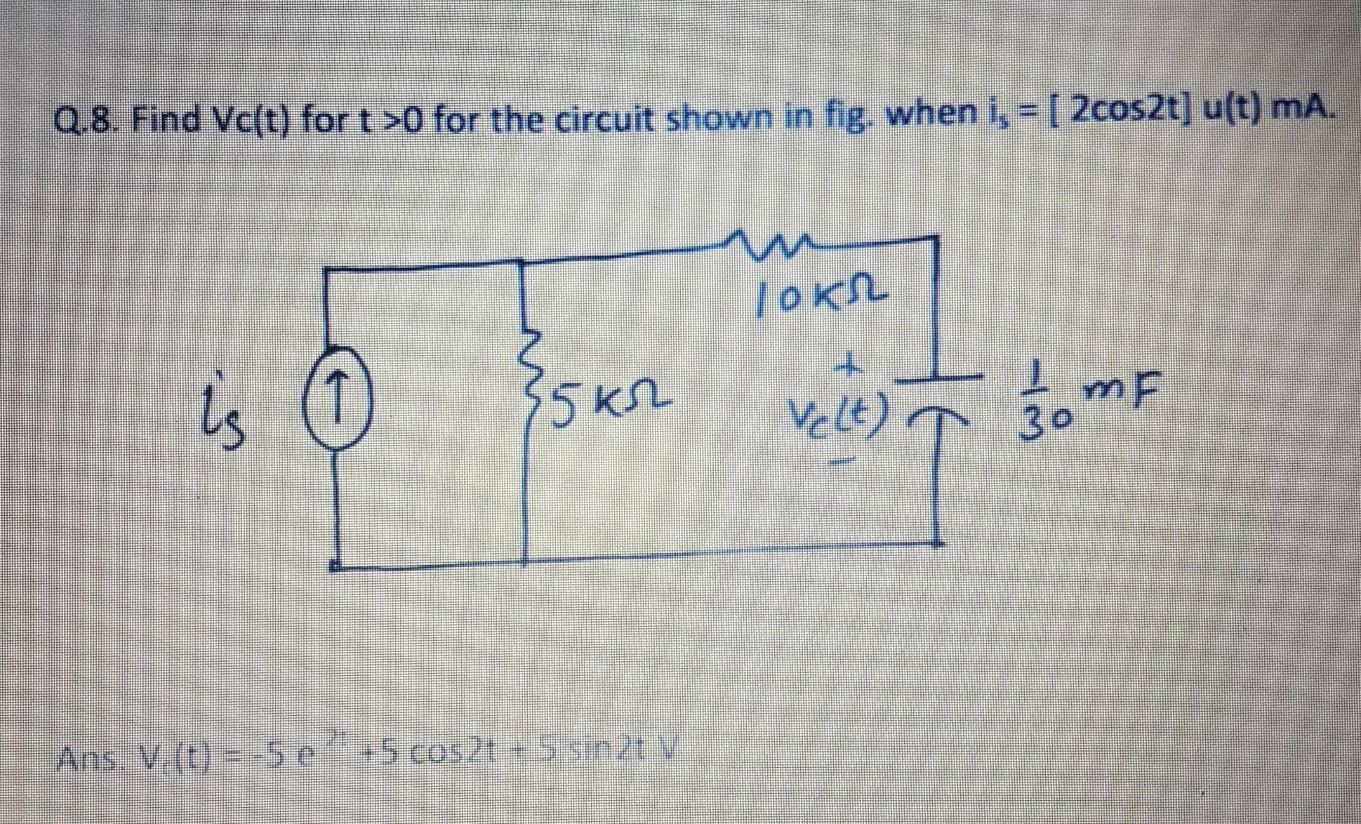 Basic Rc Circuit