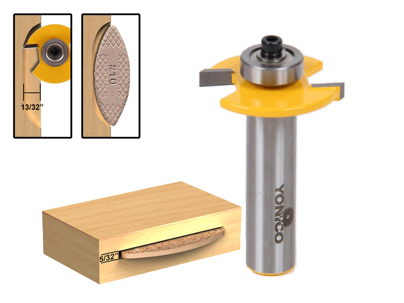 Biscuit Jointer Router Bit