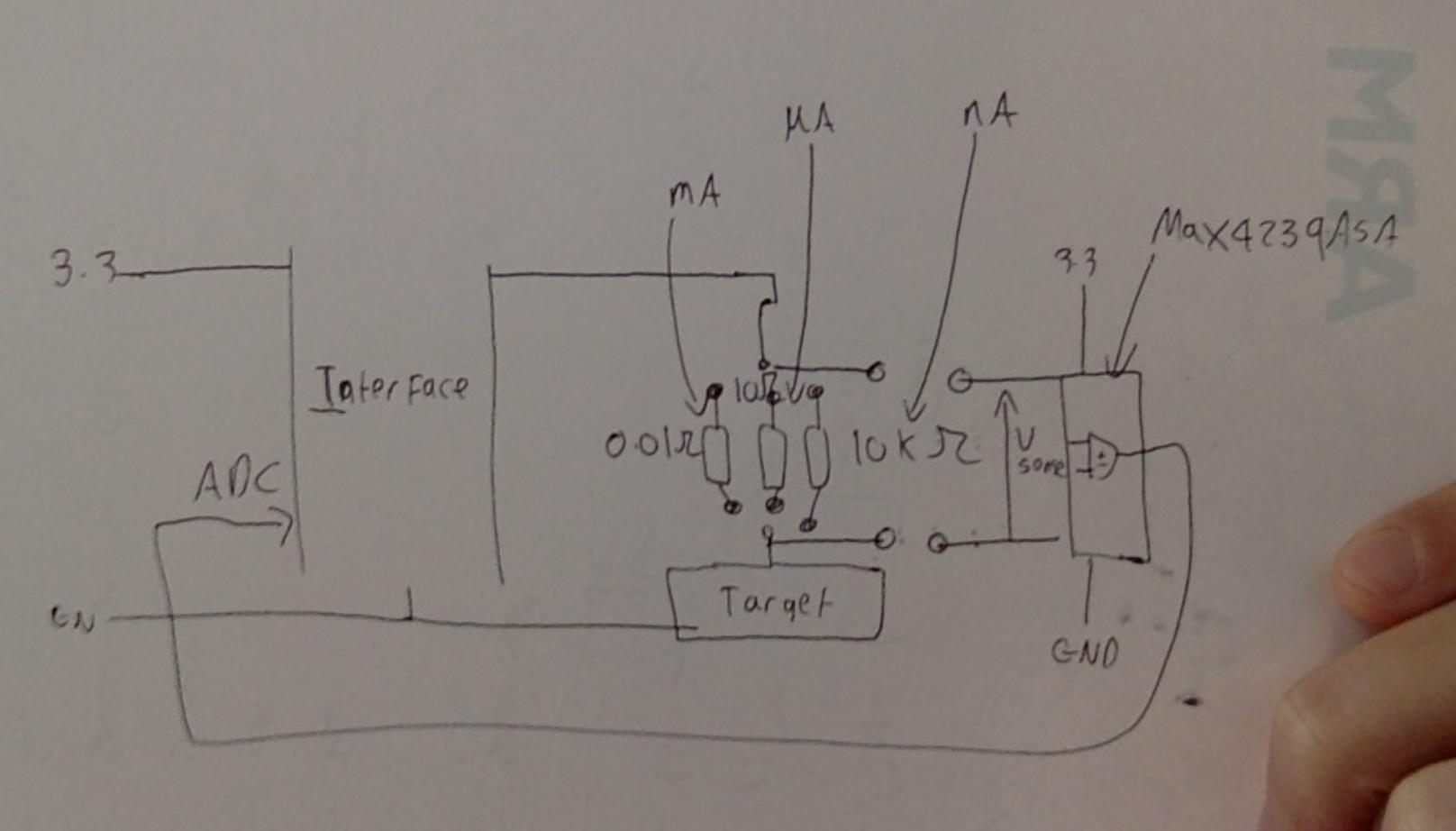 Op Amp Automatic Ranging Current Sensing Electrical Engineering
