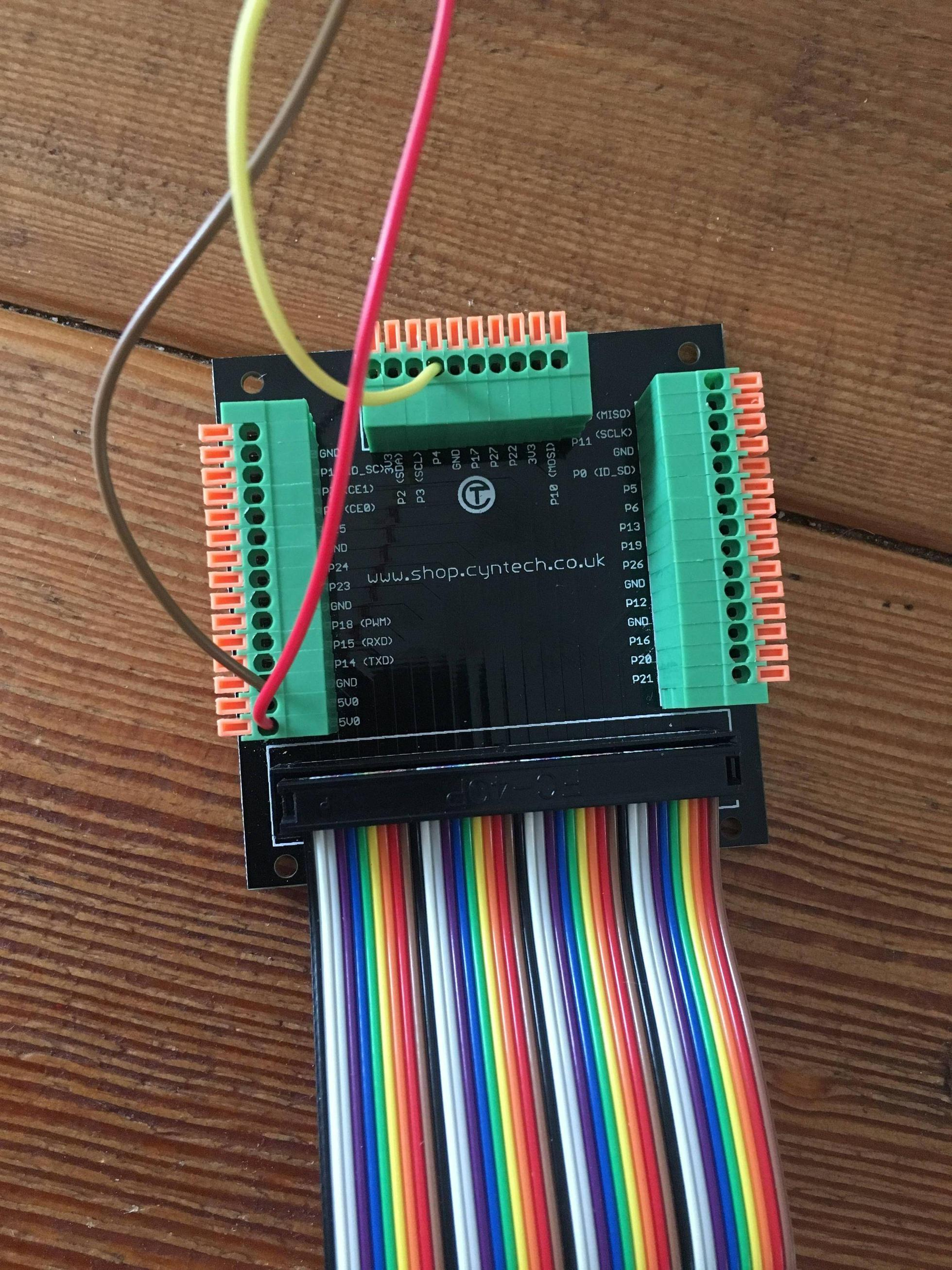 Wiringpi Python Example