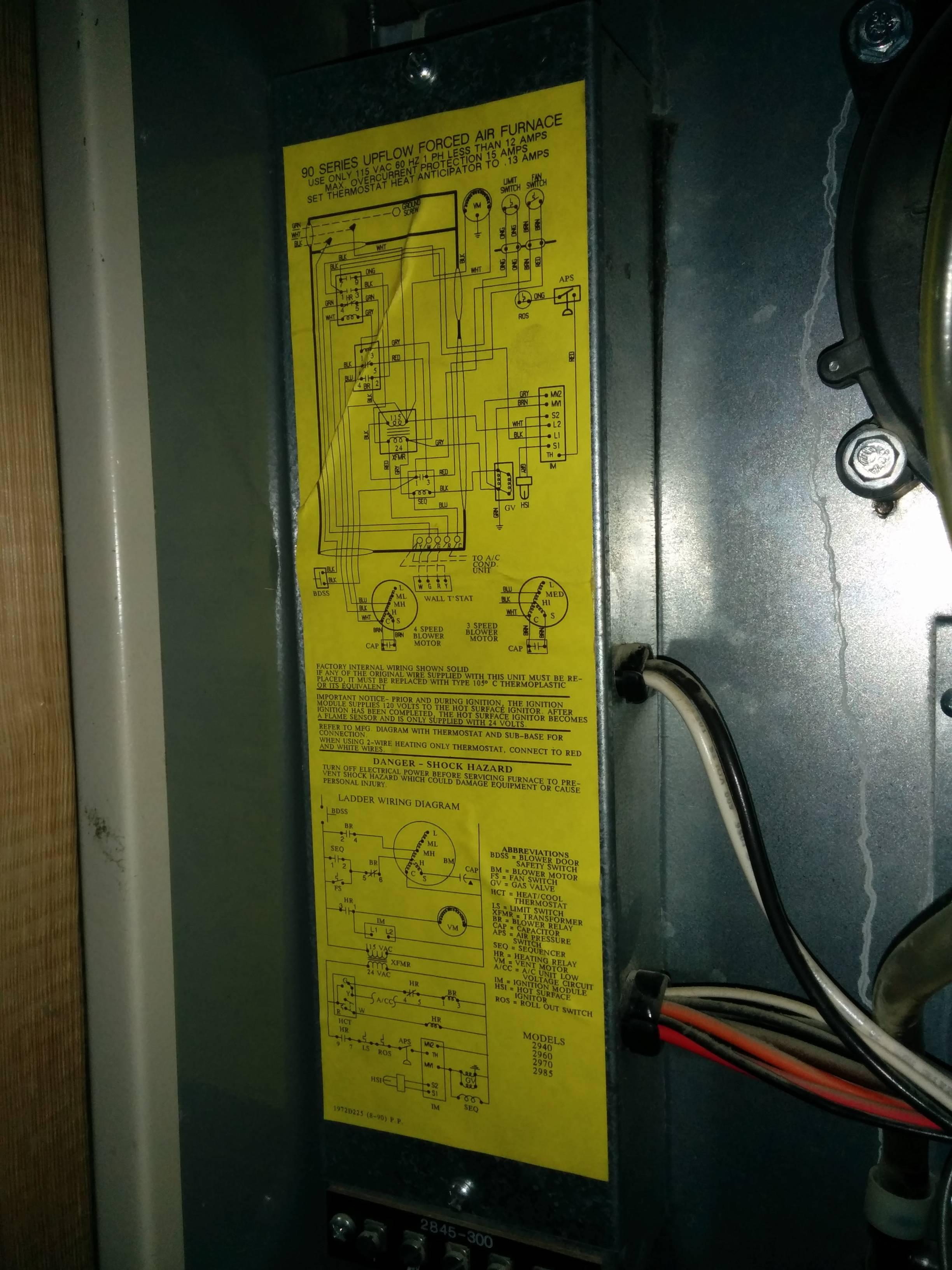 hvac  ecobee3 Installation  Thermostat Y Terminal