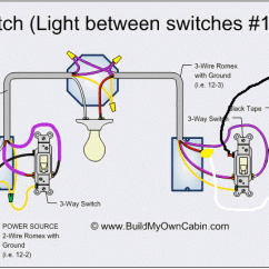 3 Switch Wiring Diagram Multiple Lights Motor Winding Thermistor Electrical Trying To Add A Light At The End Of Way Enter Image Description Here