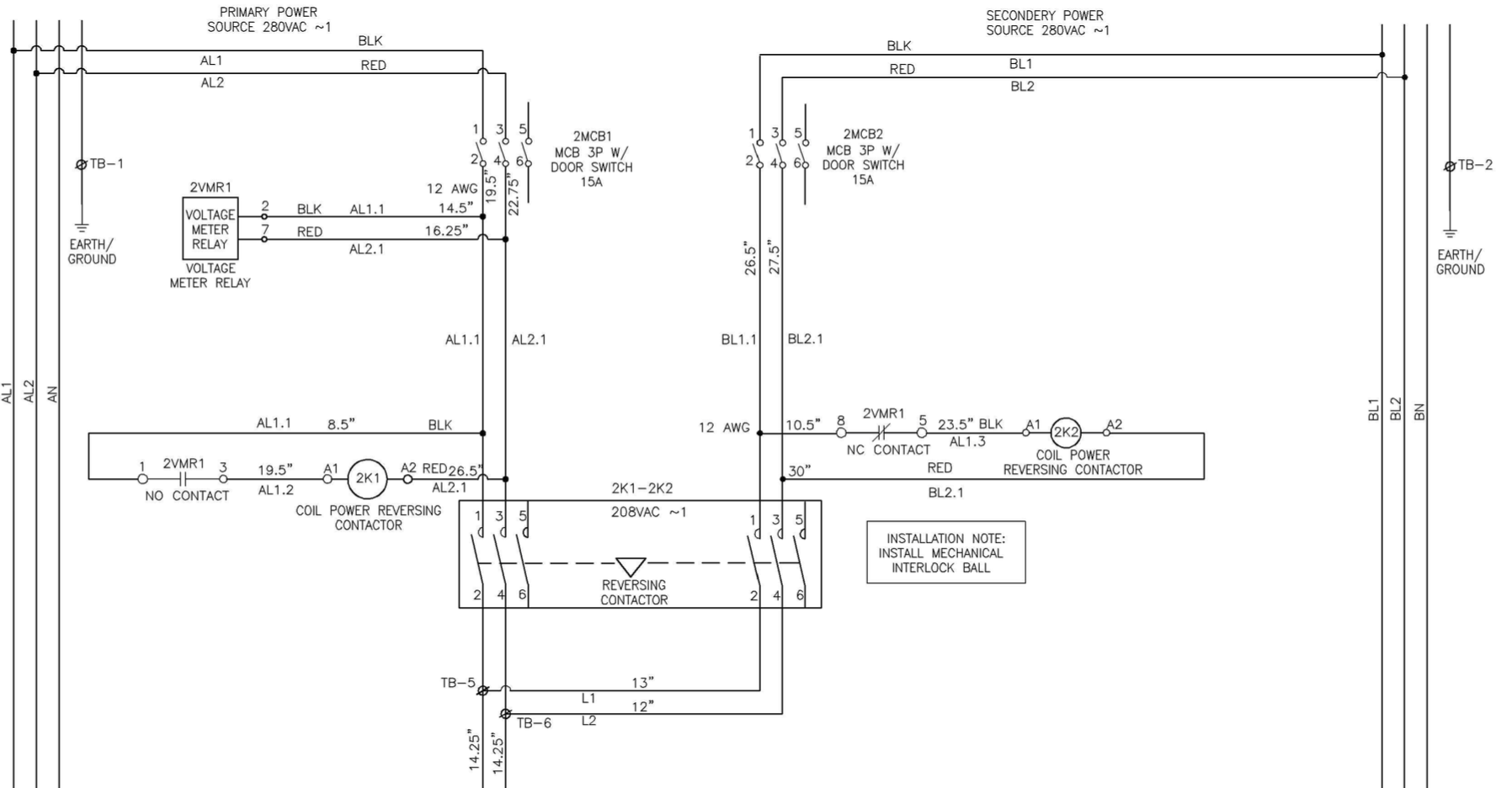 single phase reversing contactor wiring diagram 2001 chrysler pt cruiser radio power automatic transfer switch vs using a