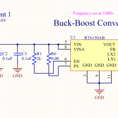 Circuit Diagram Of Buck Boost Converter Ac Low Voltage Wiring Switching Regulator 3 3v Outputting Too High