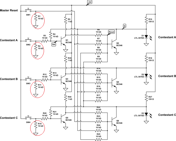 Why is this ground and resistor connected here after the
