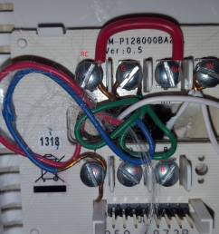 thermostat wiring rh rc wiring diagram sample thermostat wiring jumper hvac how to move from rh [ 3264 x 1836 Pixel ]