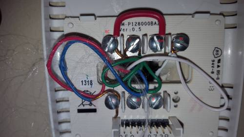 small resolution of thermostat wiring rh rc wiring diagram sample thermostat wiring jumper hvac how to move from rh