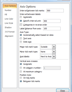 Excel chart axis format options menu also in an how do you craft  labels with whole number rh superuser