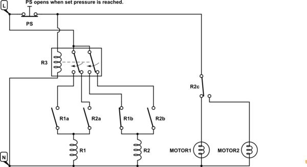 Alternating Sewer Pump Relay Wiring Diagram Septic Tank