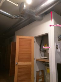 furnace - How can I reduce noise from an air handler unit ...
