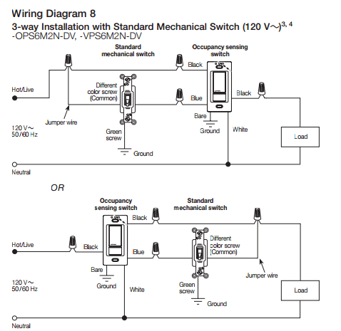"Electrical Are There ""uncommon"" 3 Way Switch Wirings? Home"