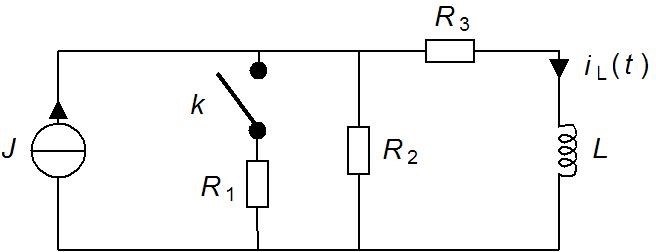 What is i(t) from circuit with differential equation