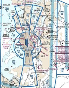 Seattle vfr flyway planning chart also air traffic control why does class  overlap  around seatac rh aviationackexchange