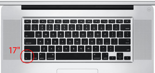keyboard how do i delete forward on a macbook pro