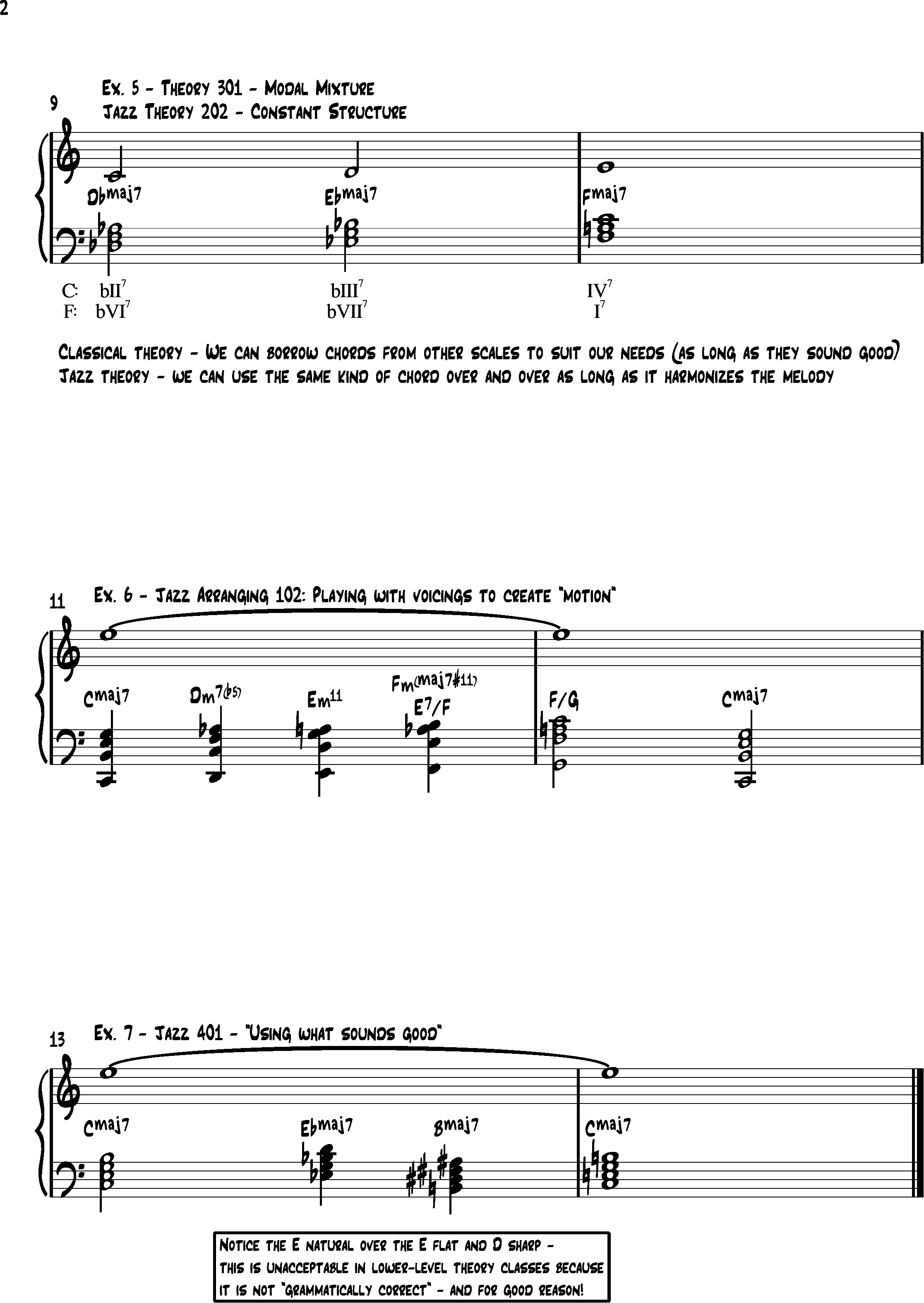What Methods Are Used By Jazz Musicians To Fill In