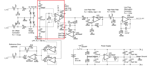 small resolution of instrumentation amplifier connection problem