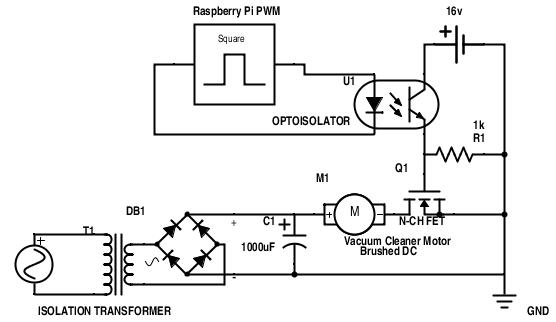 Grounding an Opto-isolated Microcontroller