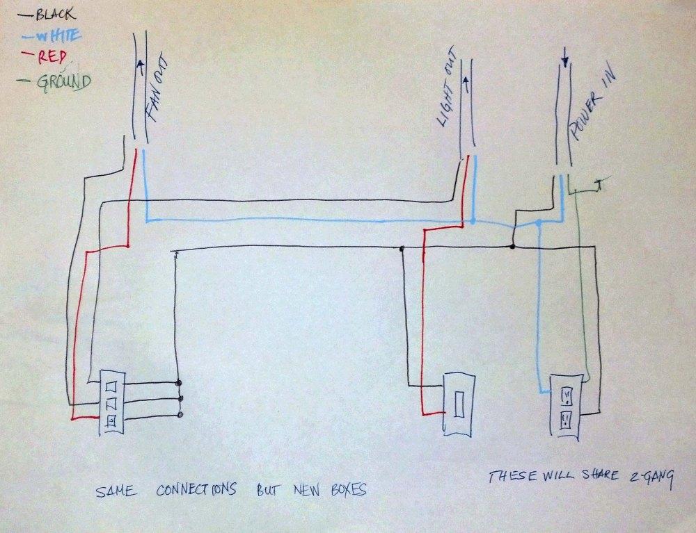 medium resolution of bathroom heat light fan switch wiring diagram wall wiring diagramextractor bathroom exhaust fan cover bath accessories