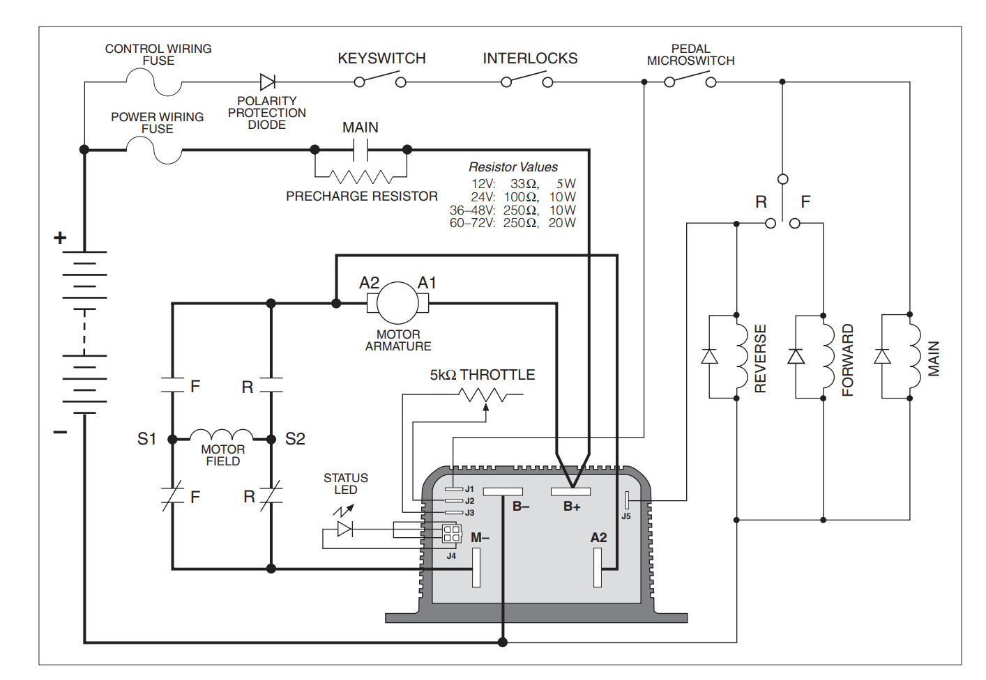 hight resolution of control of a d c motor reversing contactor electrical engineering air conditioner contactor diagram dc reversing contactor diagram
