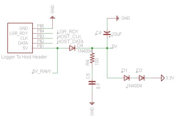 Help with power-loss protection using capacitor