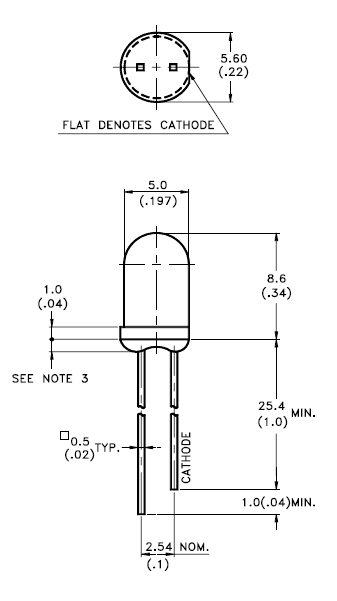 Diode Orientation Schematic
