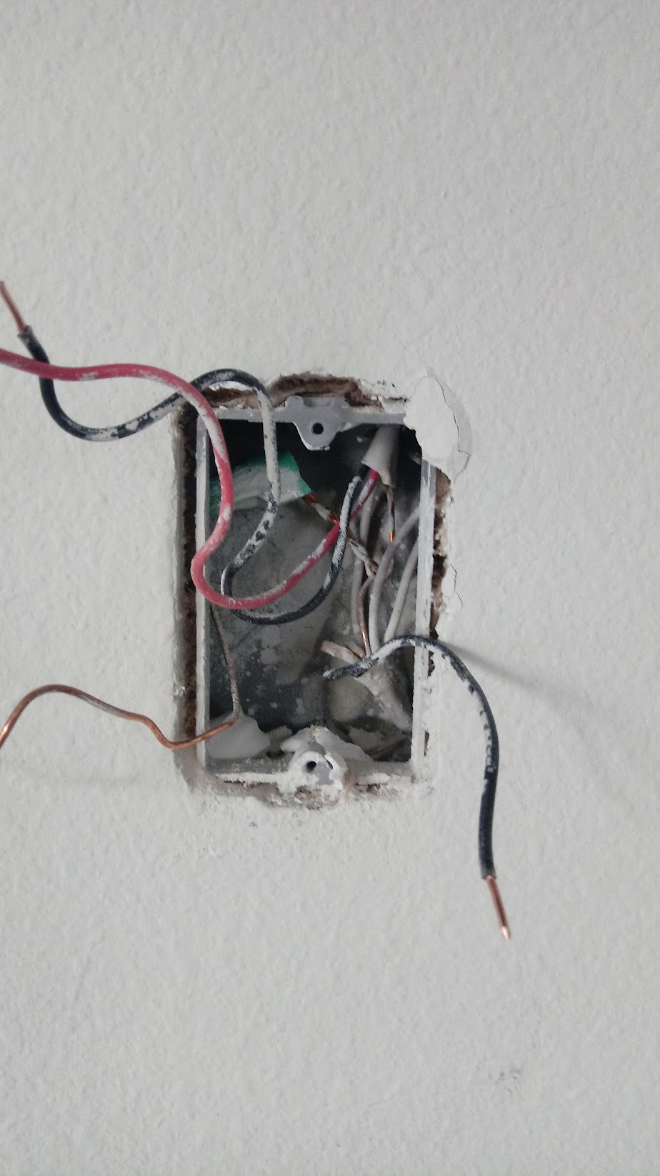 hight resolution of ceiling wall instr switch