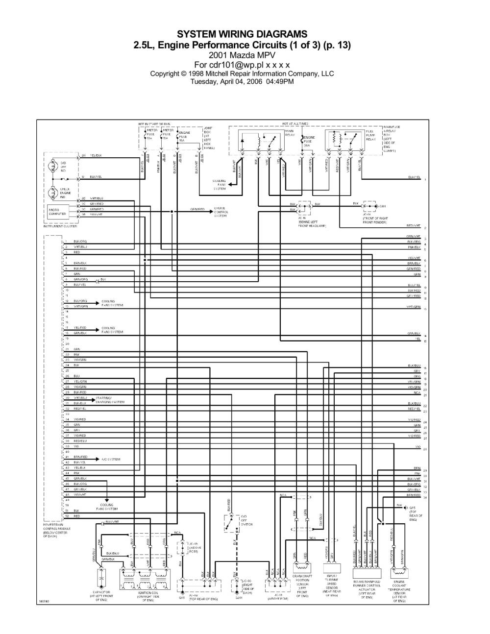 medium resolution of schematics of the circuit has 3 parts page 1 engine performance circuit