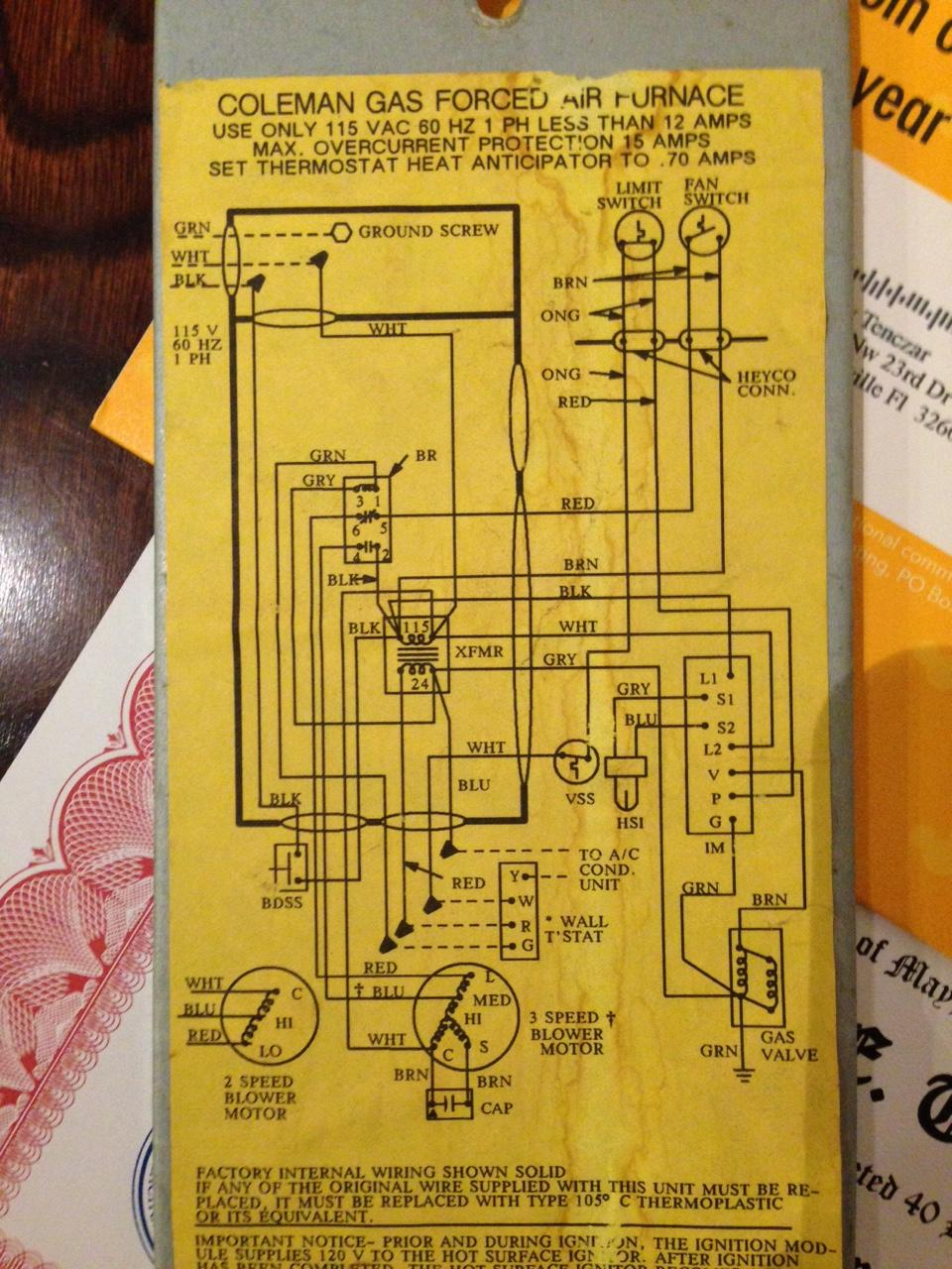medium resolution of coleman furnace wiring diagram wiring diagram paper coleman furnace wiring diagram wiring diagram operations coleman furnace
