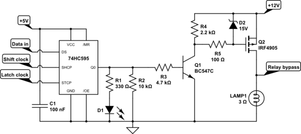 P-channel MOSFET as high-side switch gets hot
