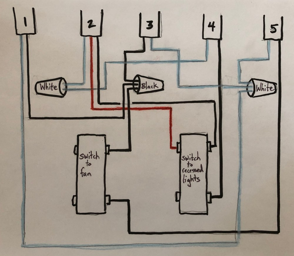 medium resolution of replacing bath fan switch with timer switch
