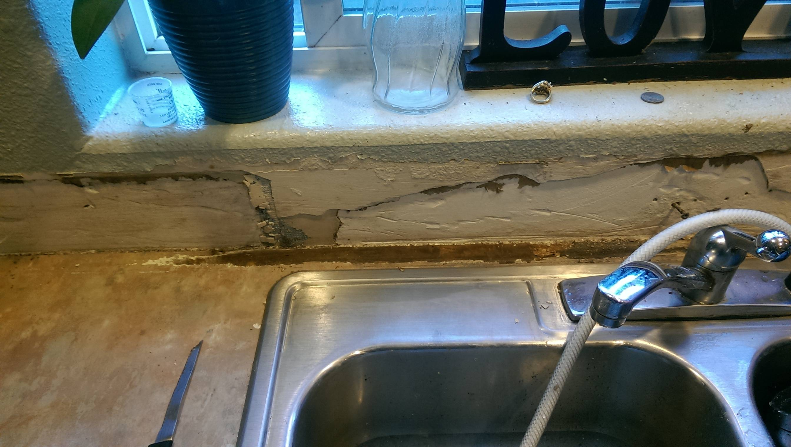 kitchens to go kitchen sink cabinet size drywall - how can i prevent mold on the wall/particle ...