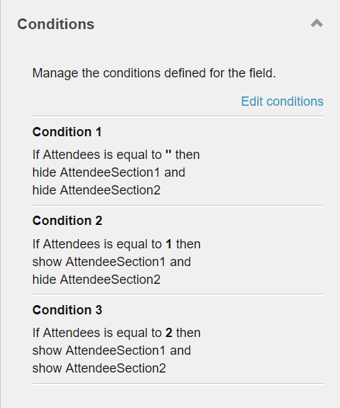 Sitecore 9.1 Forms conditional logic not working as expected - Sitecore Stack Exchange