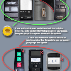 Genie Garage Door Wiring Diagram 1998 Chevrolet S10 Pickup Stereo Radio Communication - What Is The Name Of Protocol(s) Used To Let An Automatic Opener ...