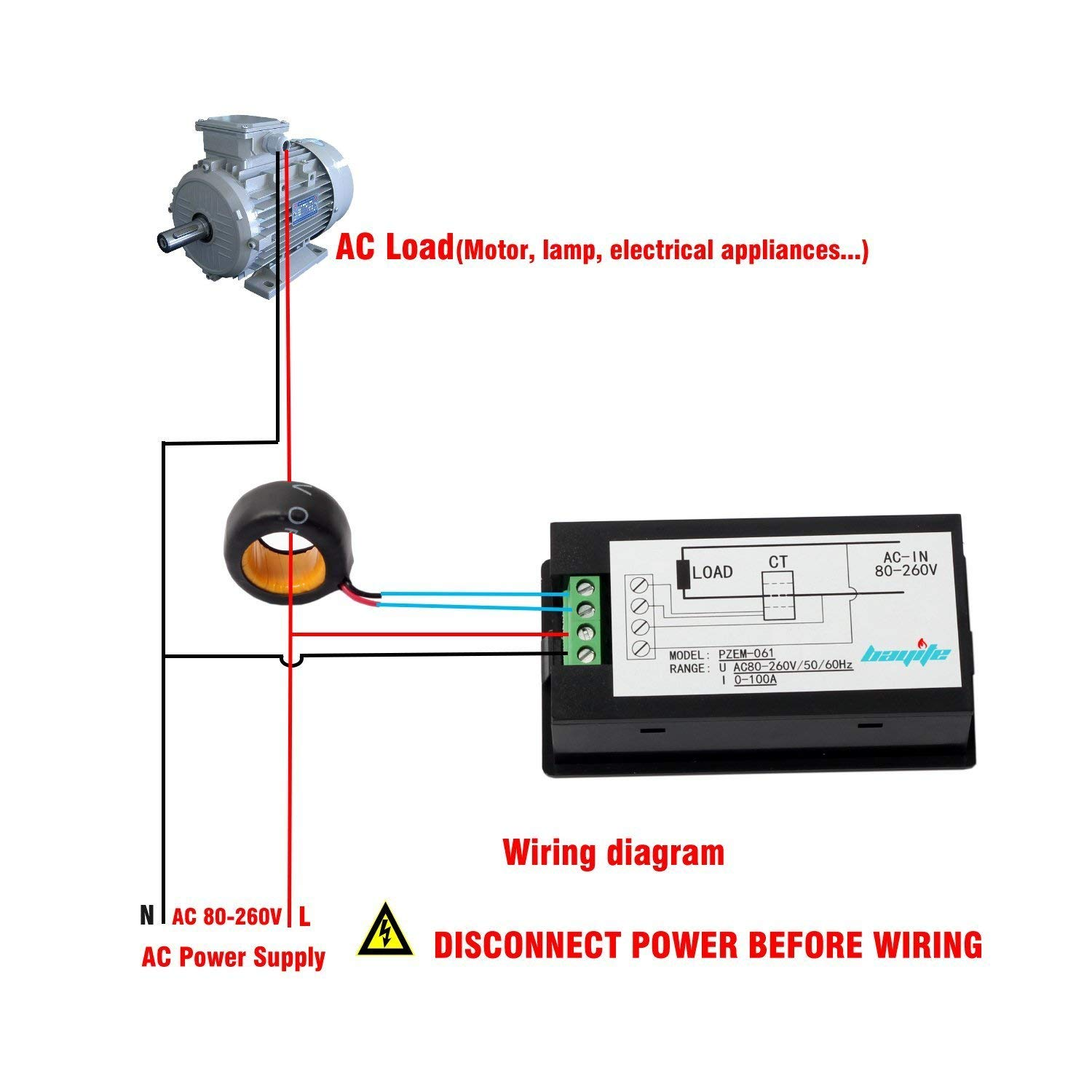 hight resolution of pzem 061 wiring diagram from amazon