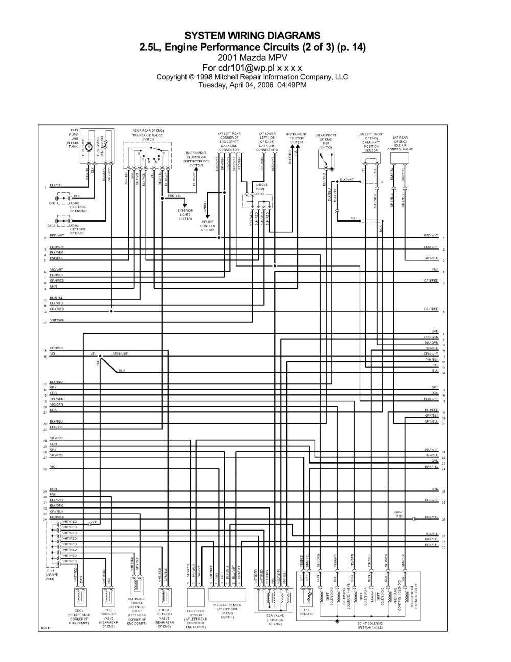 medium resolution of page 2 engine performance circuit