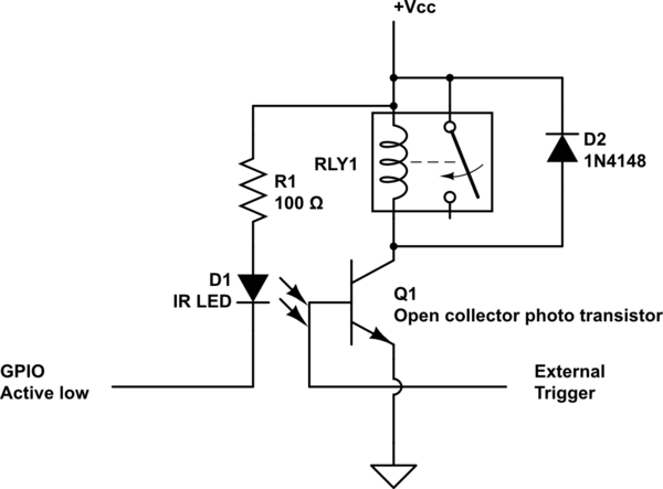 Preferred way of interfacing relay coil with active low