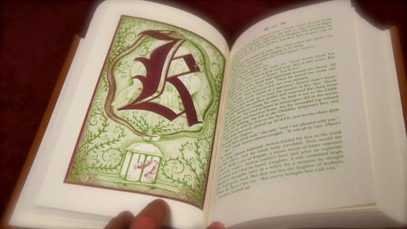 Which inprint editions of Neverending Story have redgreen text  Science Fiction  Fantasy