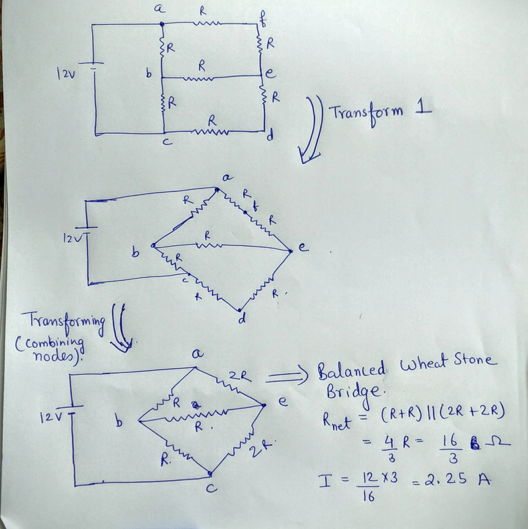 Series And Parallel Circuit Problem