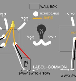 can anyone explain this strange 3 way wiring trying to install a rh diy stackexchange com motion sensor 3 way switch wiring diagram 2 3 way motion sensor  [ 4571 x 2831 Pixel ]
