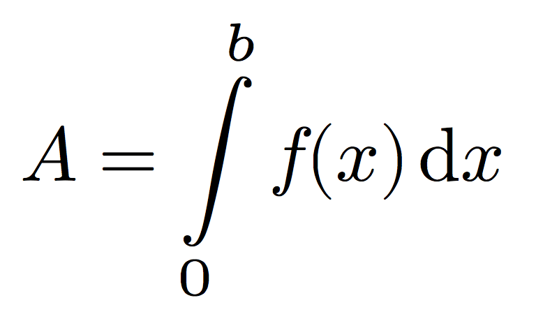 Riemann wants you to thank Mr. Integral