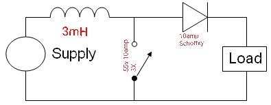 Convert 3v to 5v very high amperage using boost converter