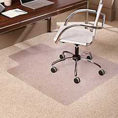 Swivel Chair On Carpet Wooden Folding Chairs For Sale Which A To Roll Easily Home Improvement If You Still Have Difficulty There Are Mats Made Of Plastics That Sit Under Desk And Over The Carpeting Allow Easier Rolling